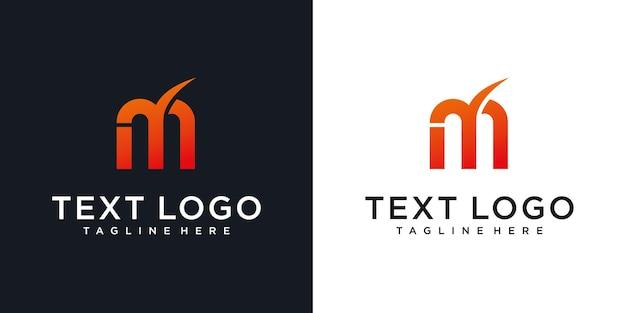 Абстрактная буквица mn mn минимальный шаблон дизайна логотипа