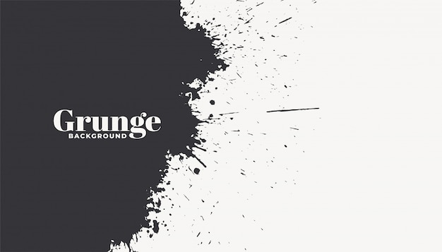 Abstract ink splatter grunge background