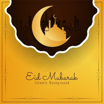 Abstract islamic festival eid mubarak religious background