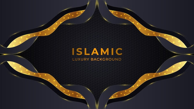 Abstract islamic religious background