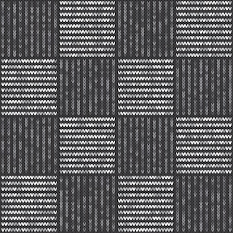 Abstract knitted pattern.