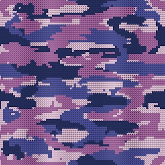 Abstract knitting seamless texture