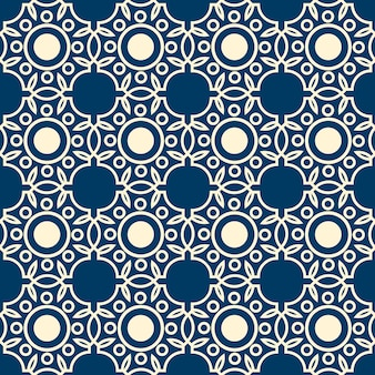 Abstract lacy seamless pattern