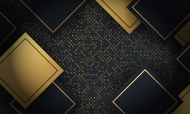 Abstract layered geometric shape background