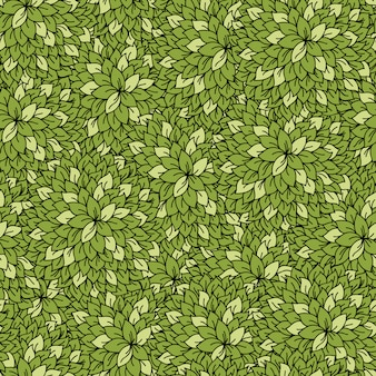 Abstract leaves seamless background.
