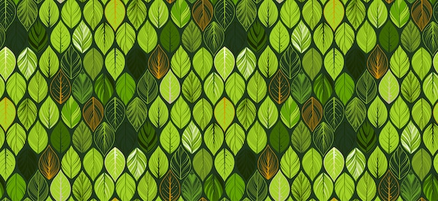 Abstract leaves seamless pattern . exotic wallpaper.