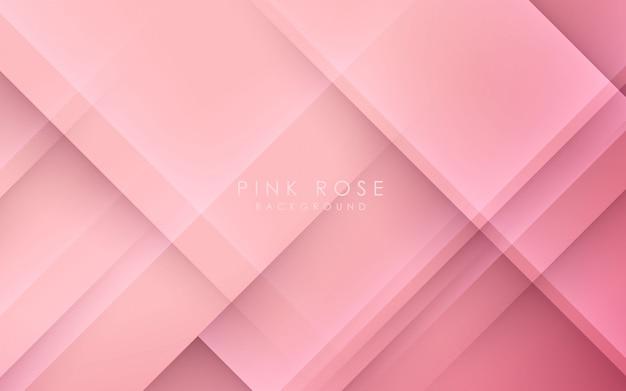 抽象的な光と影のピンクの背景