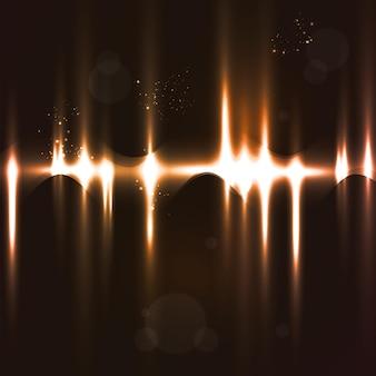 Абстрактный светлый фон, футуристическая иллюстрация