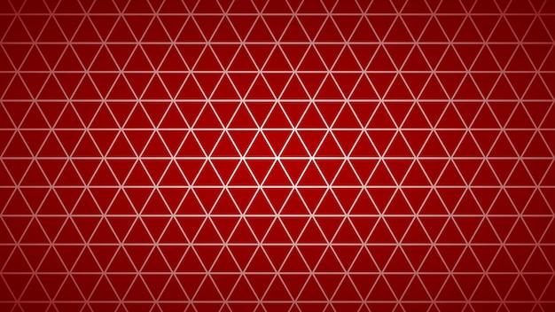 붉은 색에 작은 삼각형의 추상 밝은 배경.