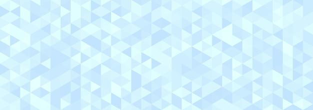 抽象的な水色の幾何学的な六角形の背景。