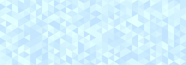Abstract light blue geometric hexagon shape background.