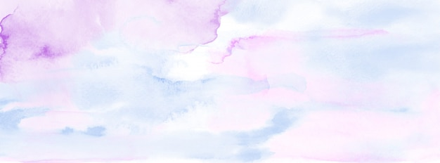 Abstract light blue watercolor for background. stain artistic vector
