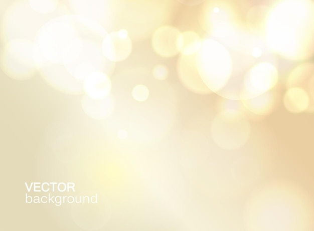 Abstract light color  with bokeh flat