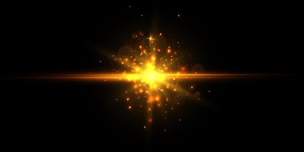 Абстрактный световой эффект.
