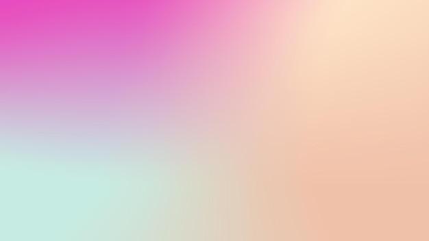 抽象的な光のグラデーション紫、青、オレンジ色の背景ポスター
