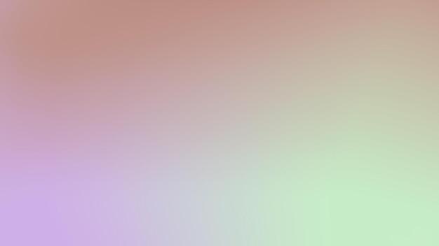 抽象的な光のグラデーション紫、緑、オレンジ色の背景ポスター