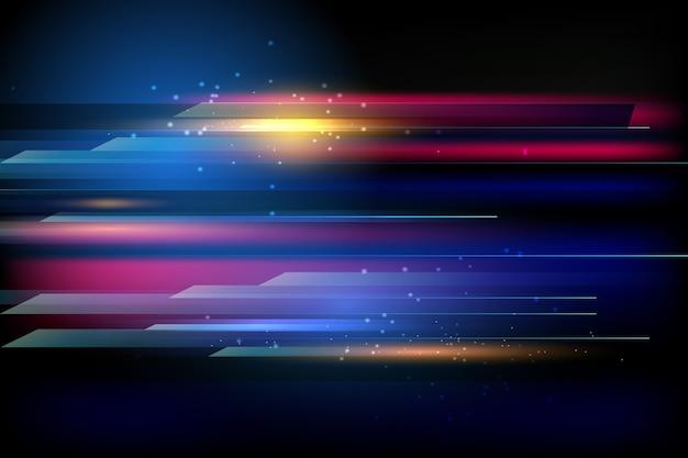 Abstract light movement wallpaper