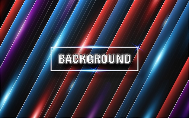 Abstract light neon background