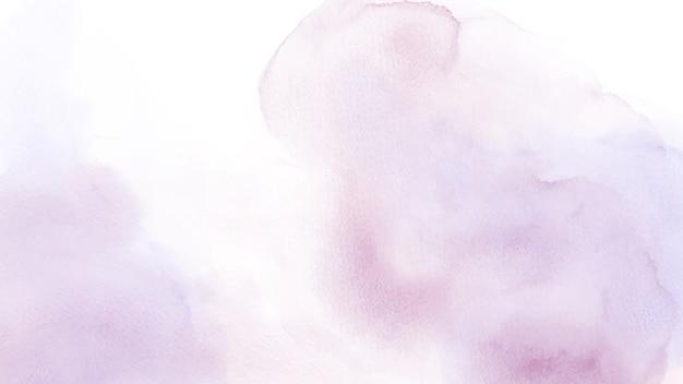 背景に抽象的なライトピンクの混合紫の水彩画。