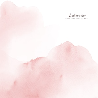 Abstract light pink watercolor for background.