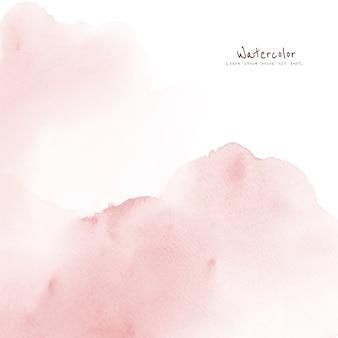 Абстрактная светло-розовая акварель для фона.