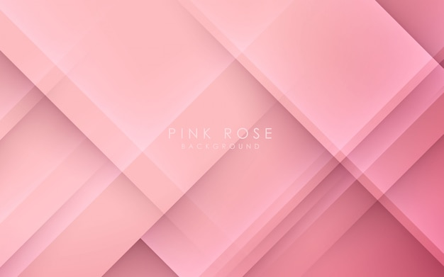 Abstract light and shadow pink background