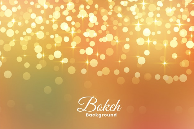 Abstract light shimmer golden background