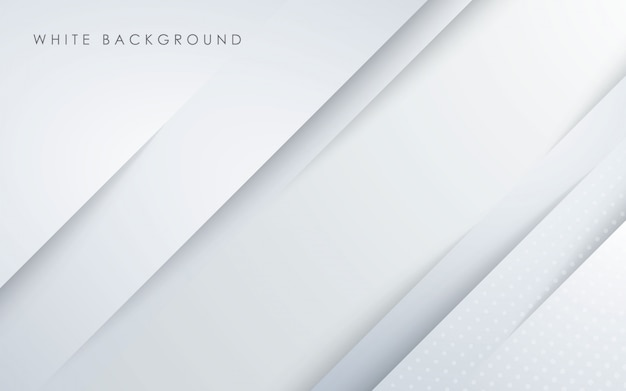 Abstract light white papercut background