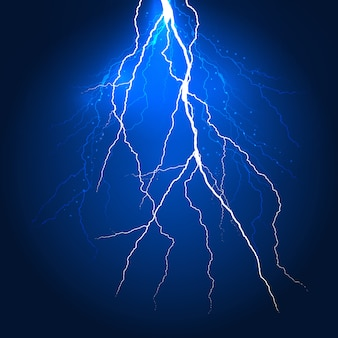 Abstract lightning background design