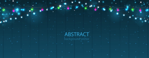 Abstract lights background. glowing light bulbs design.vector
