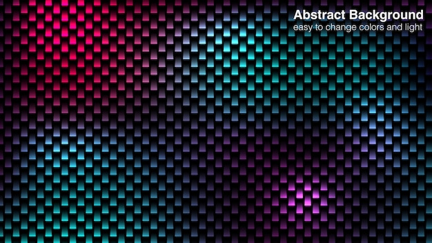 Abstract lights dark background