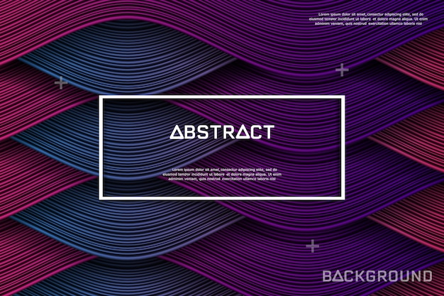 抽象的な線とテクスチャ背景。
