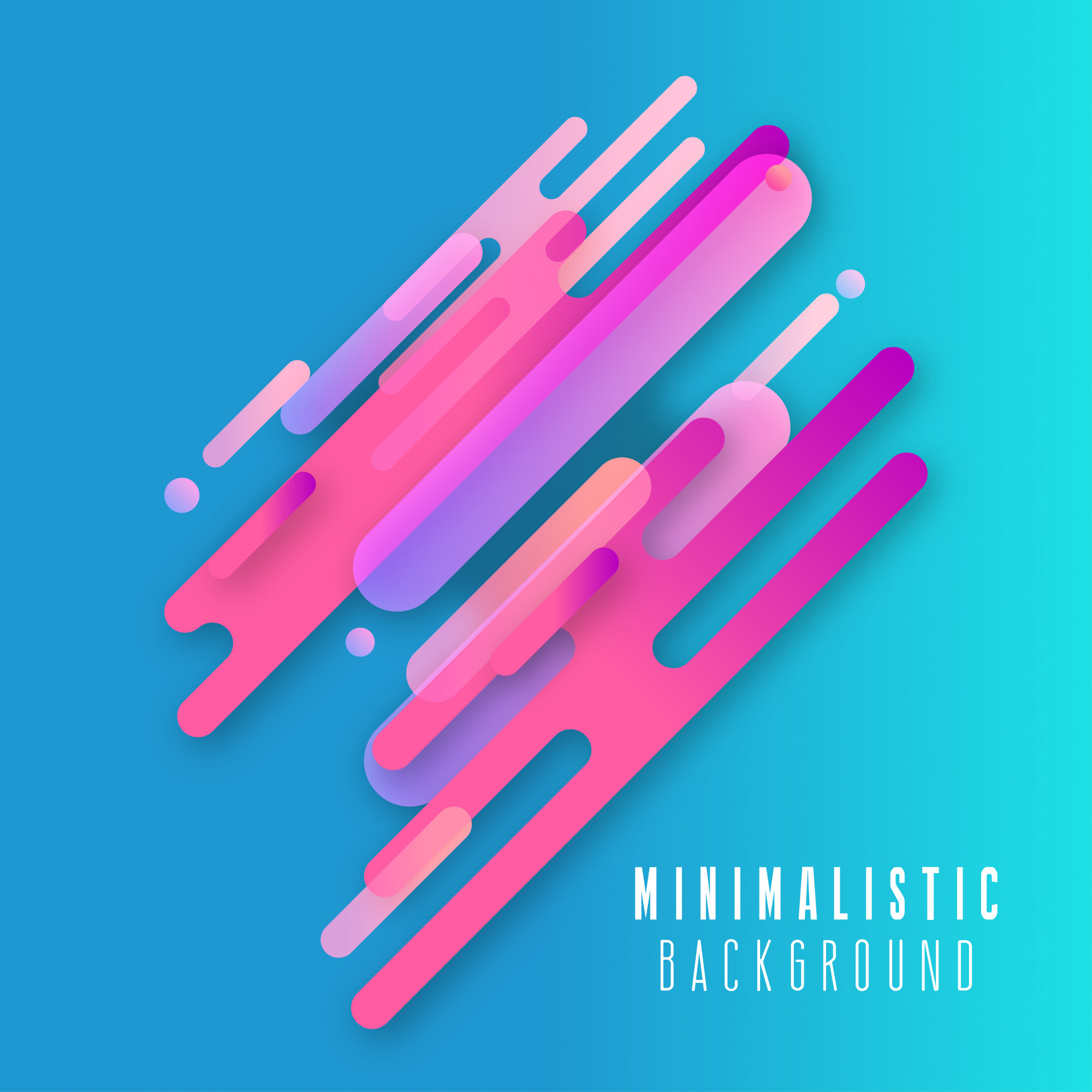 Abstract Line background design vector