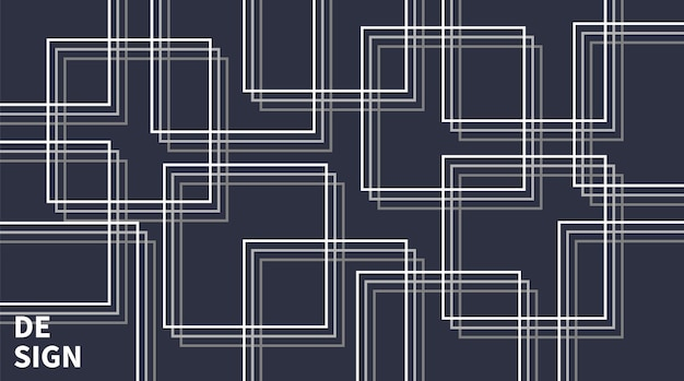 Abstract line background modern style