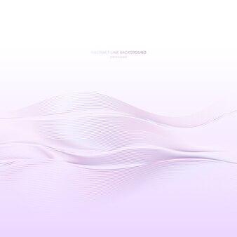 抽象的な線の背景、現代の波。