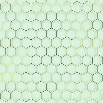 Abstract line hexagon geometric texture