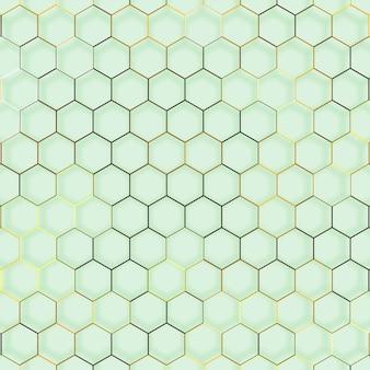 抽象线六角形几何纹理