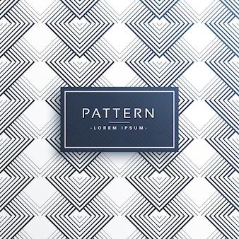 抽象的なラインパターンデザインの背景