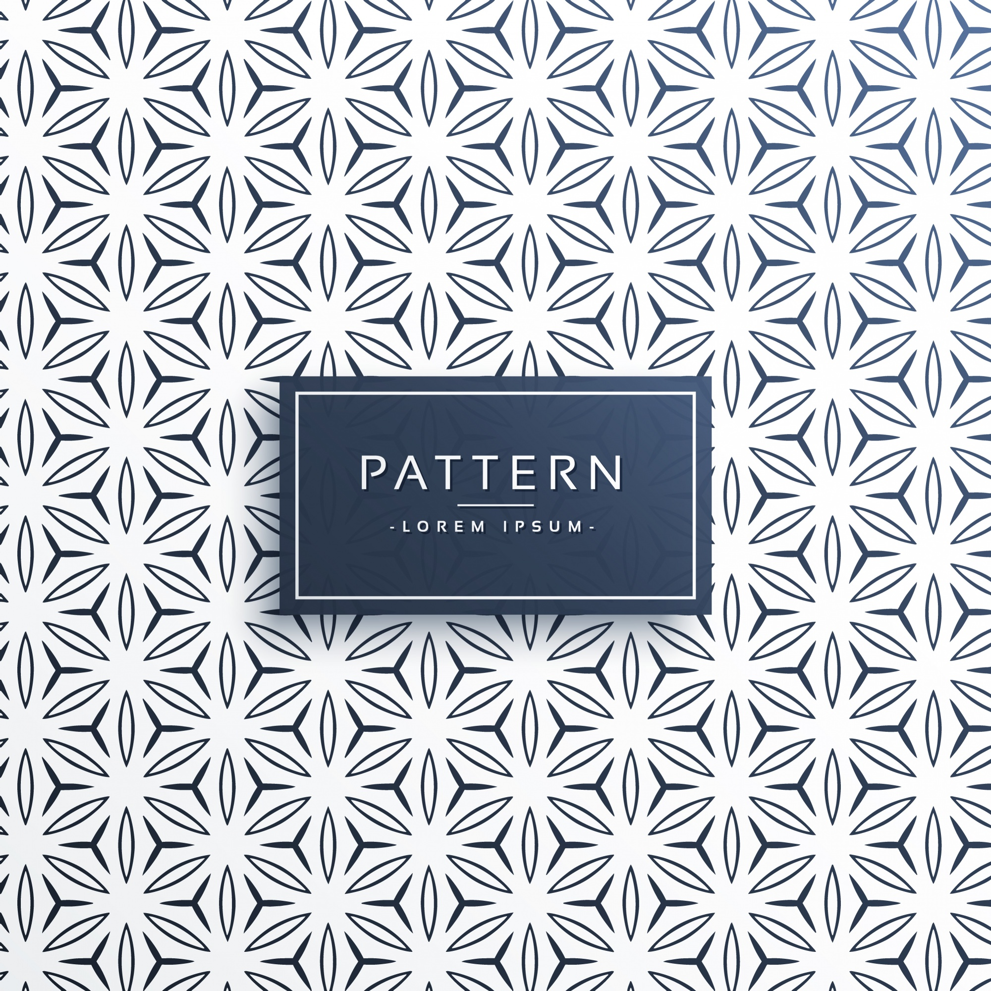 Abstract line style geometric pattern background