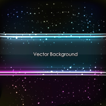 Abstract linear background for design with many glowing dotes and lines