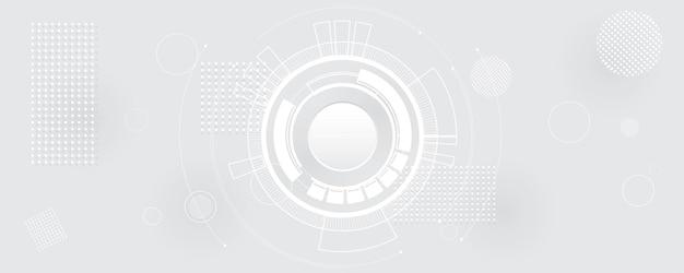 추상 선과 점이 배경을 연결합니다. 기술 연결 디지털 데이터 및 빅 데이터 개념.
