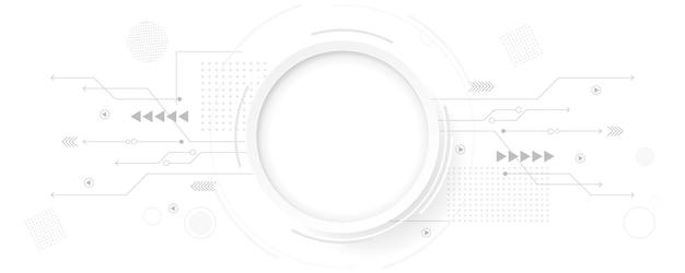 추상 선과 점 연결. 구형 디지털 데이터 연결 기술 및 데이터 개념.