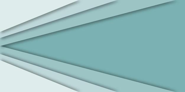 シャドウペーパーカットスタイルの抽象的な線の背景。