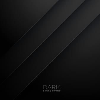 Abstract lines dark vector background