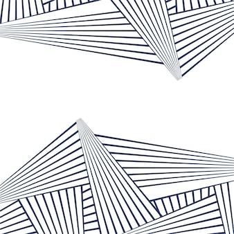 추상 라인 기하학적 패턴