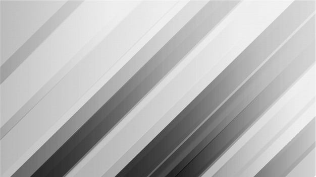 Abstract lines gradient white and gray backgrounds.