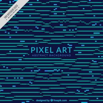 Абстрактные линии из фона пикселей
