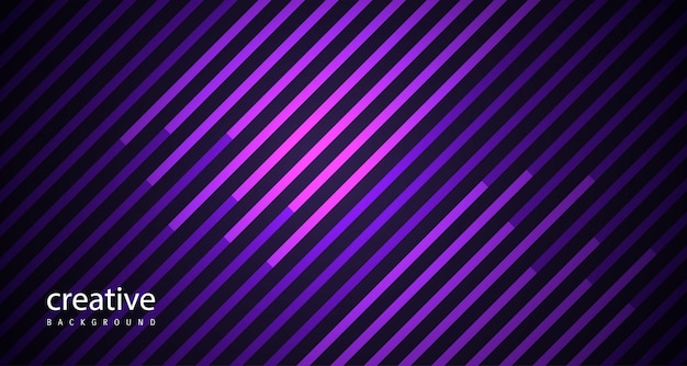 Abstract lines purple awesome background