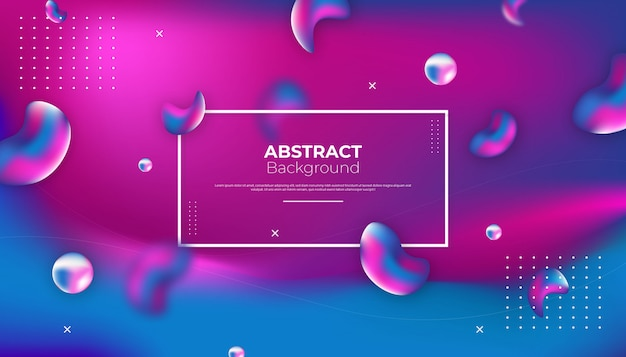 Abstract liquid background design