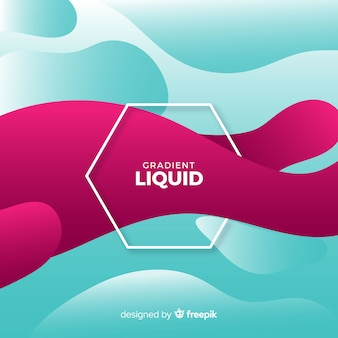 Abstract liquid background